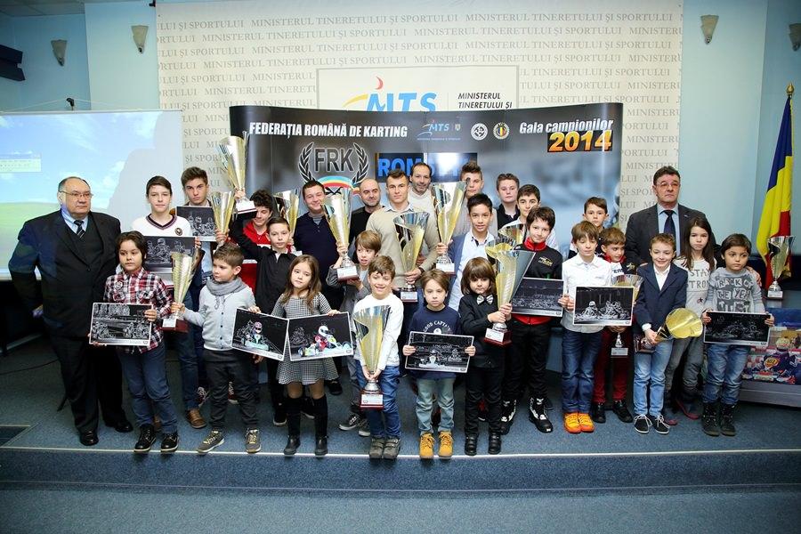Federația Română de Karting și-a premiat campionii din 2014