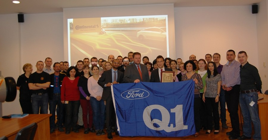 Ford premiază fabrica de anvelope Continental din Timișoara