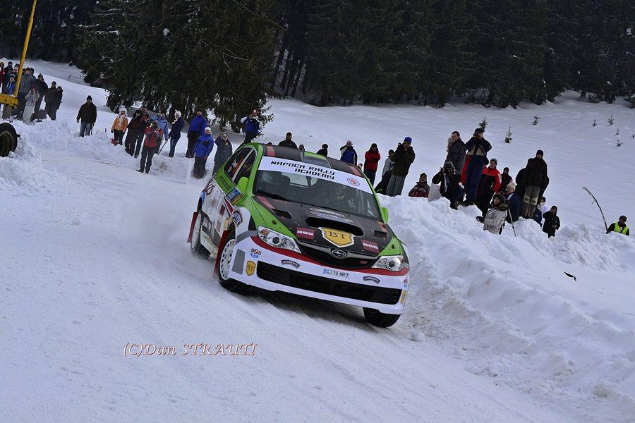 Covasna Winter Rally: Napoca Rally Academy intră în cantonament pe zăpadă