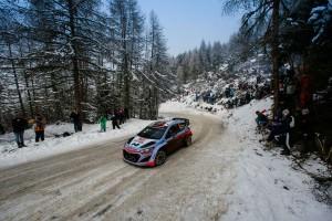 Dani Sordo (#8 Hyundai i20 WRC)  - Raliul Monte_Carlo 2015