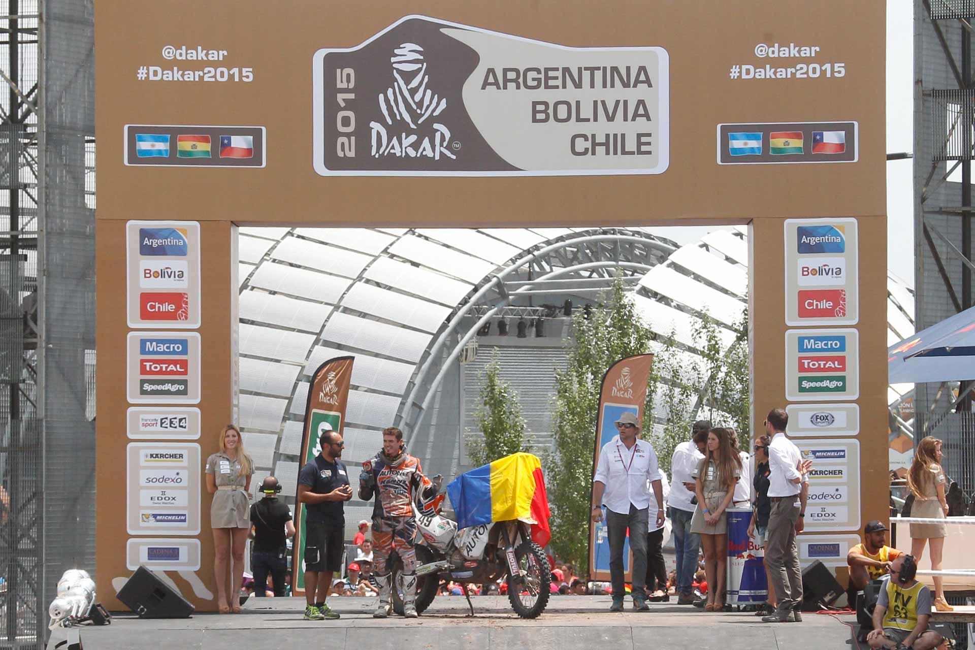 Emaneul Gyenes la al doilea titlu în Raliul Dakar