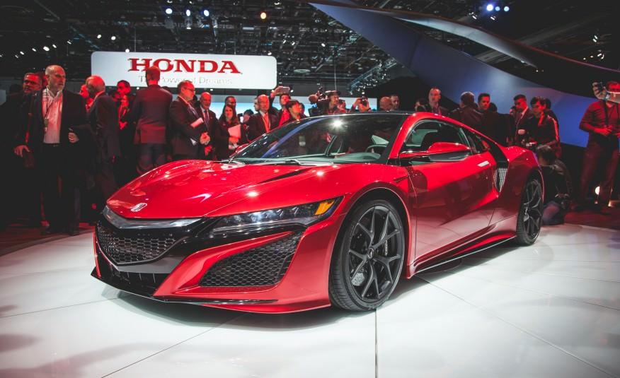 NAIAS Detroit – premiera mondiala: Honda NSX revine in arena moderna a peformantei