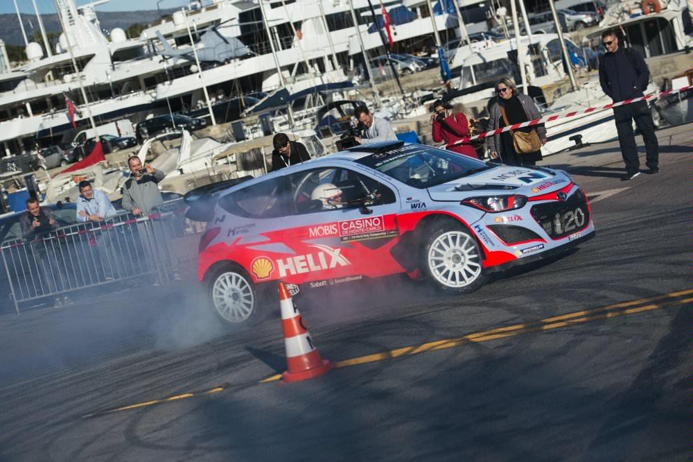 Raliul Monte-Carlo : zi solicitanta pentru echipa Hyundai Motorsport