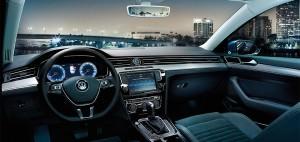 Interior noul Volkswagen Passat