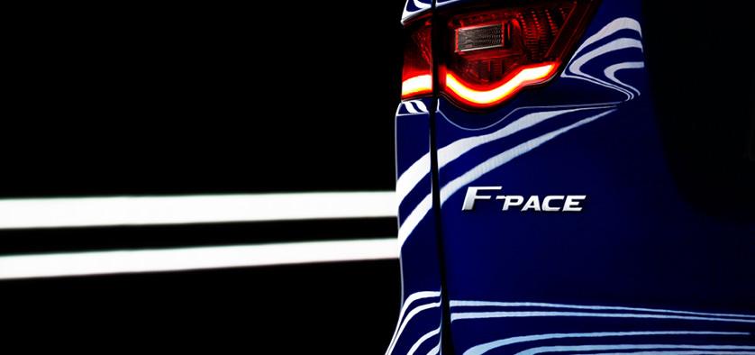 Jaguar F-PACE, un nou crossover de înaltă performanţă