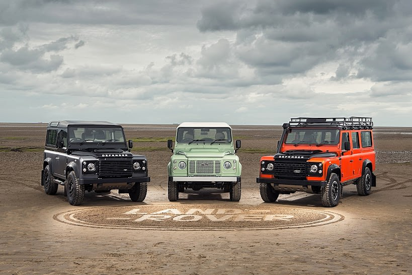 Land Rover Defender: Heritage , Adventure si Autobiography, trei editii limitate