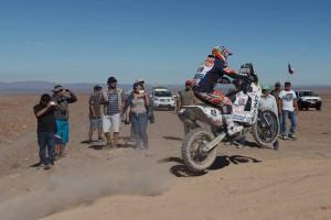 Mani Gyenes PS 5 Dakar 2015