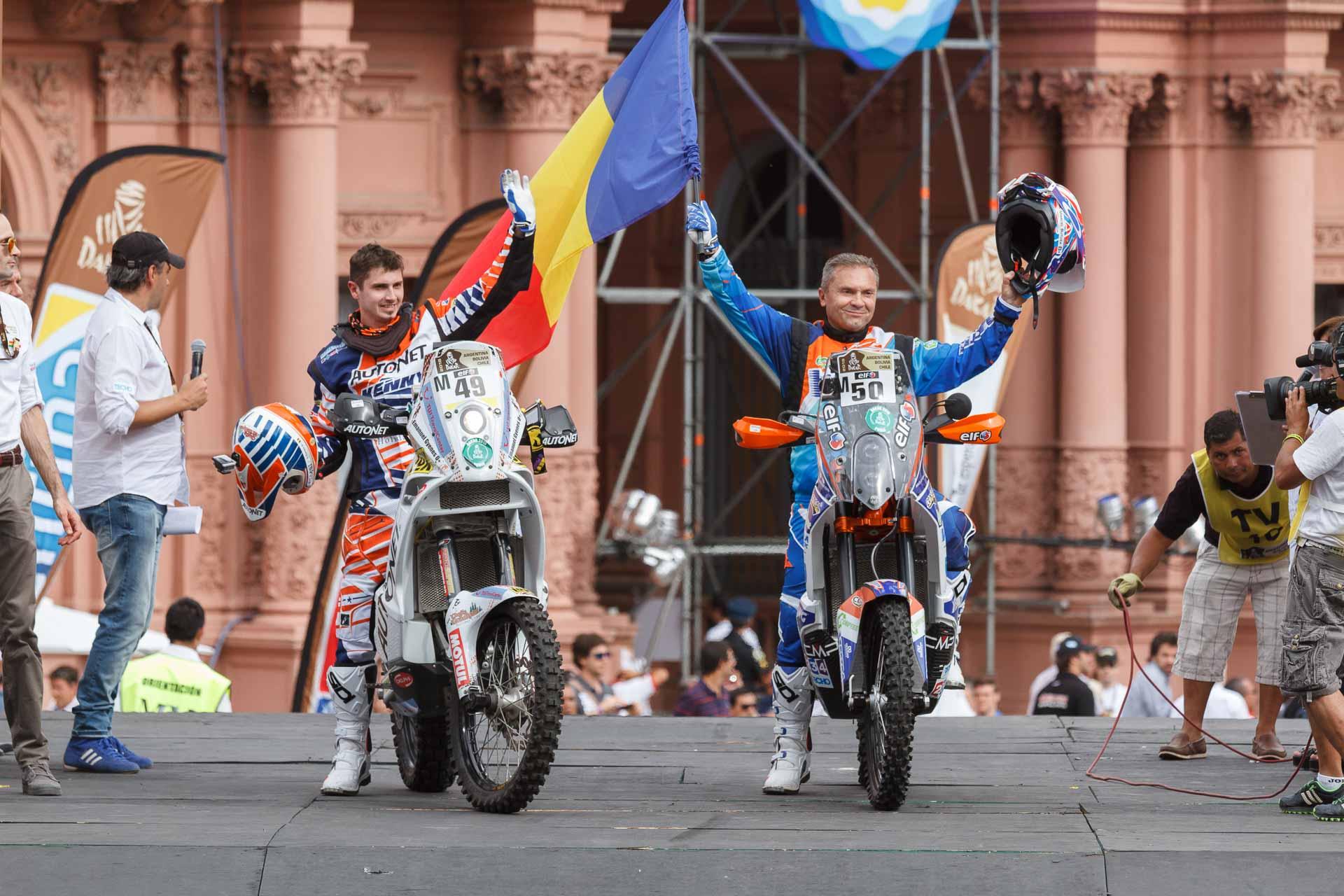 Dakar 2015, Mani Gyenes start în prima etapă