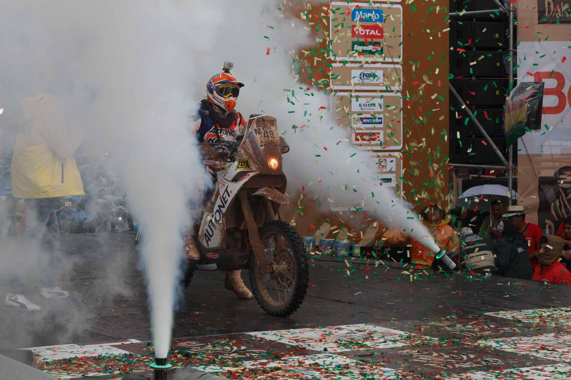 Dakar 2015: Gyenes a preluat conducerea la clasa Maraton