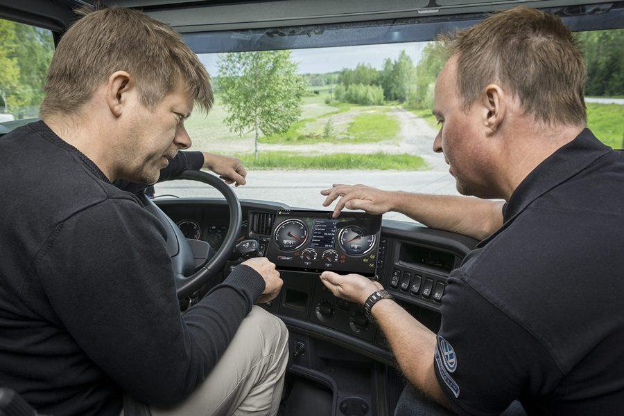 Noi gadgeturi de la Scania