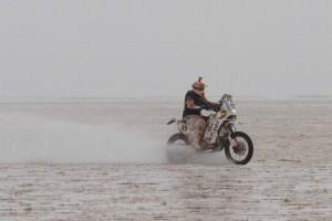 Raliul Dakar 2015 -Mani Gyenes #49 Autonet Motorcycle Team