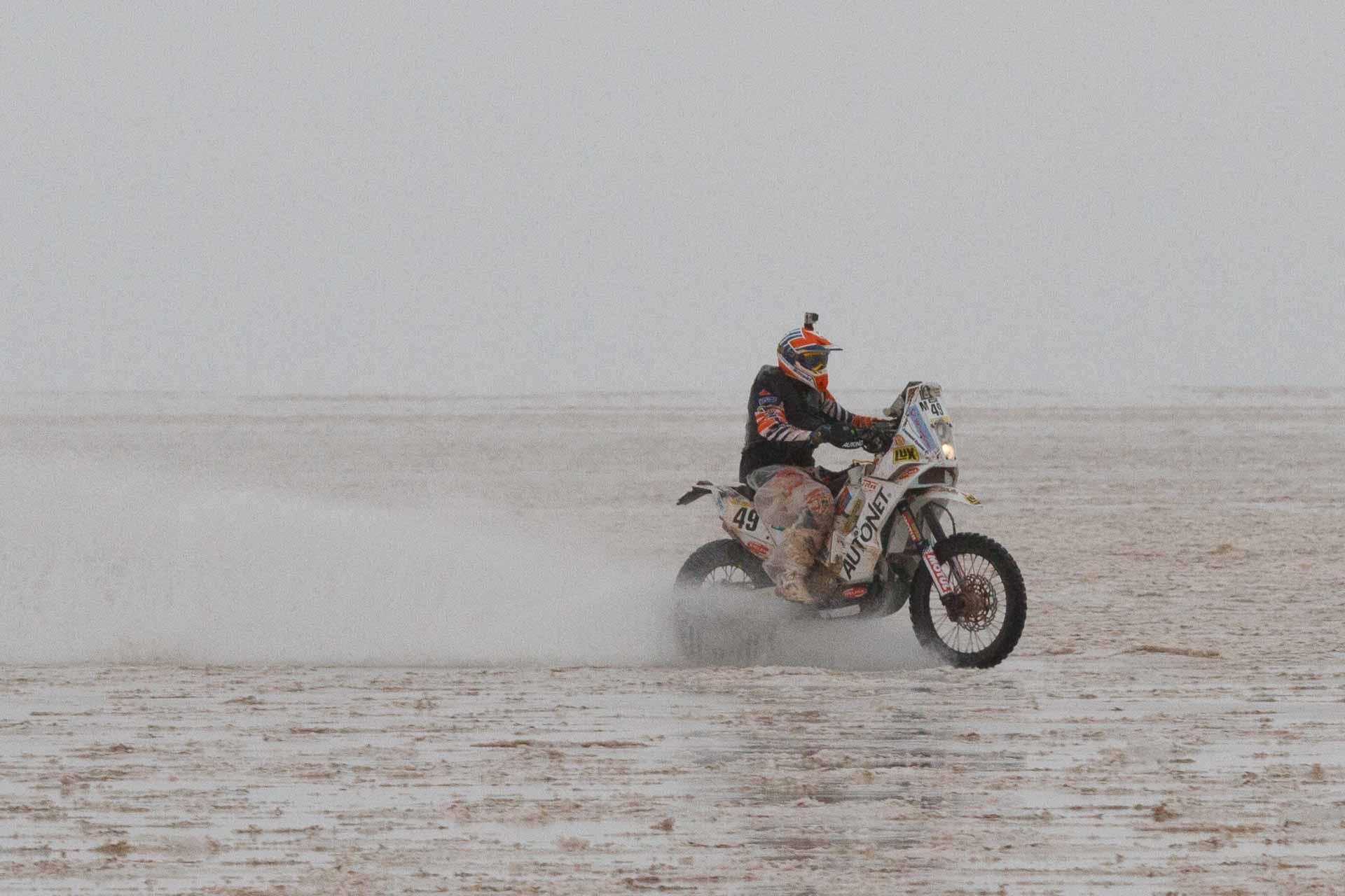 Dakar 2015: Gyenes revine in Argentina pe locul 24 la general