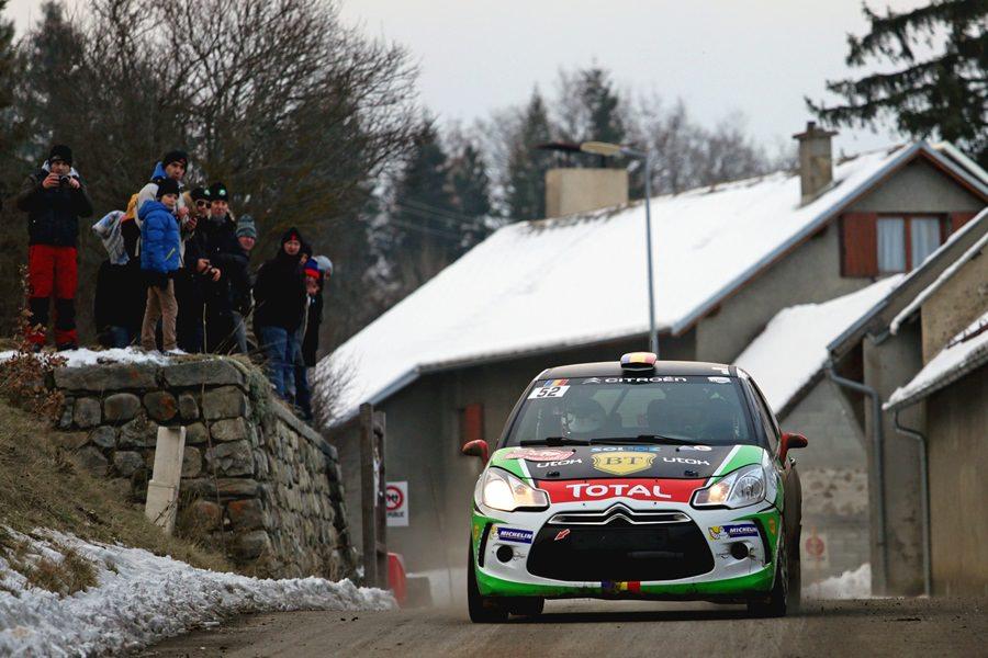 Raliul Monte-Carlo : Simone Tempestini a urcat pe 4 în Junior WRC