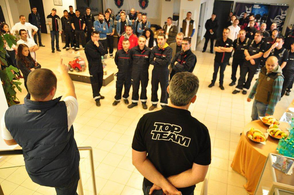 Scania Top Team și-a ales finaliștii din România și Bulgaria
