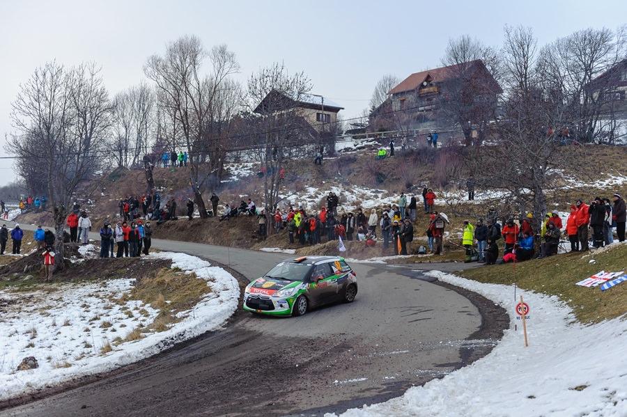 Raliul Monte-Carlo: Simone Tempestini, locul 4 in Junior WRC