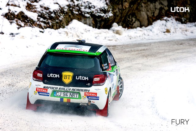 Simone Tempestini si UTOK FURY ataca titlul Junior WRC 2015