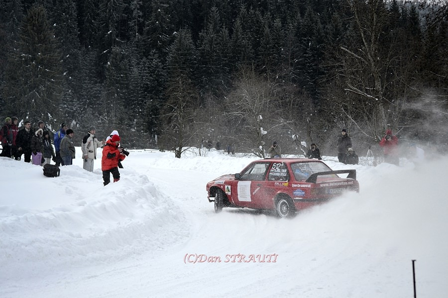 Winter Rally Covasna, un pluton de nota 10