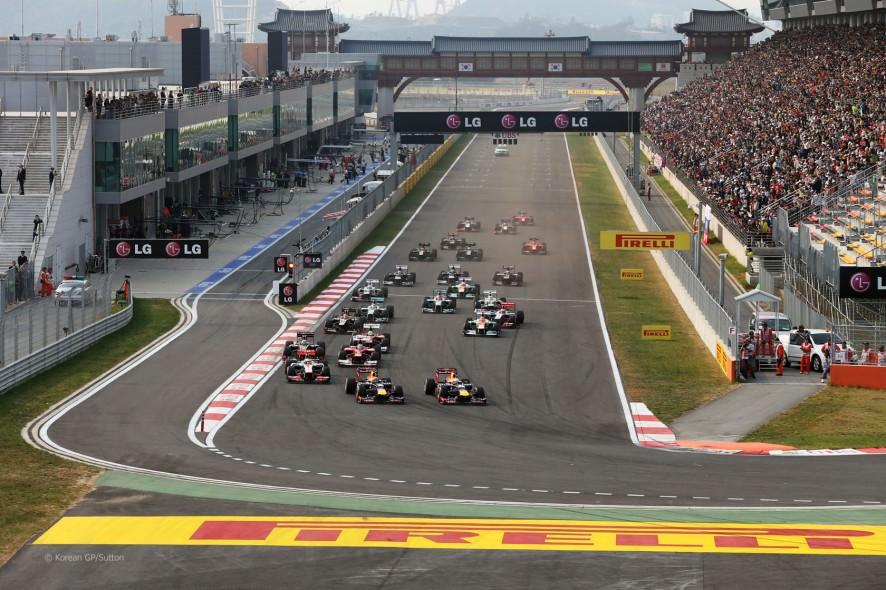 Formula 1: Grand Prix-ul Coreei de Sud, retras din calendarul anului 2015