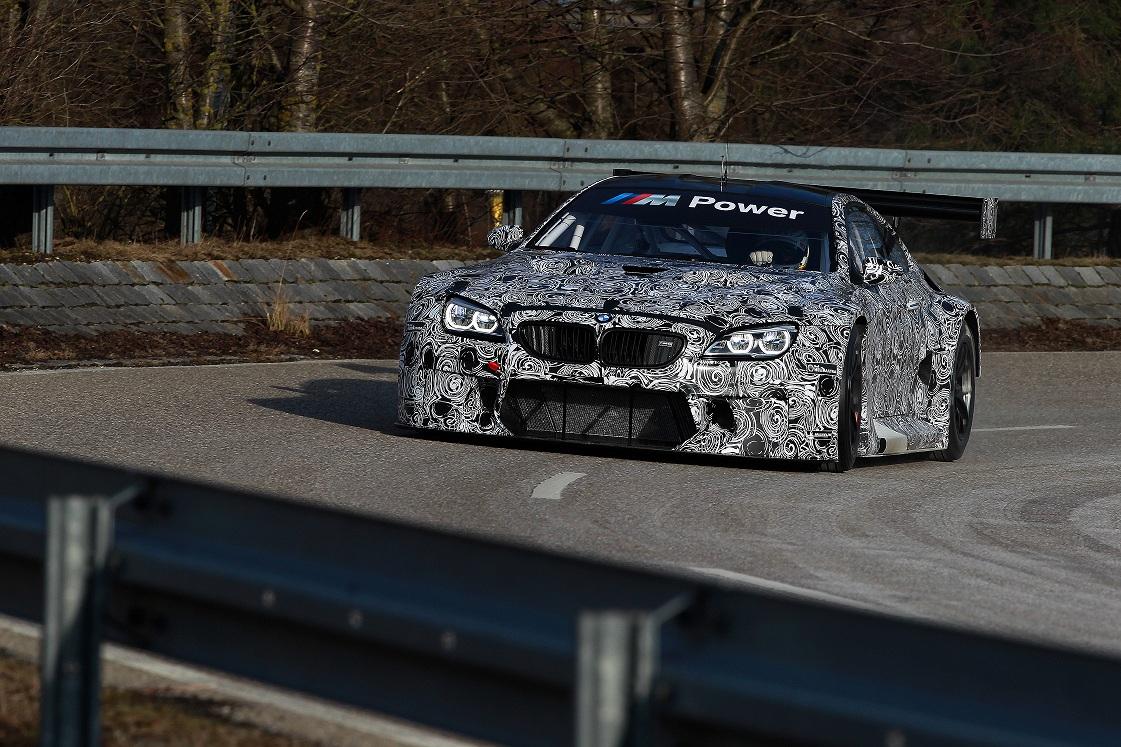 BMW M6 GT3 a debutat la uzina BMW din Dingolfing