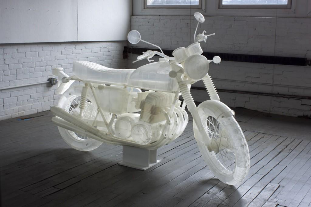 Jonathan Brand a creat replica Honda CB500, model 1972, prin tehnologie de printare 3D