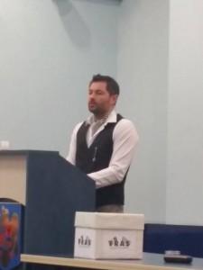 Norris Mageanu - presedintele FRAS 2015
