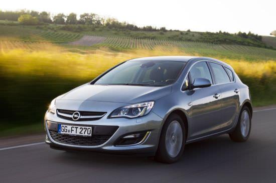 Opel Astra, mai ecologic şi mai econom