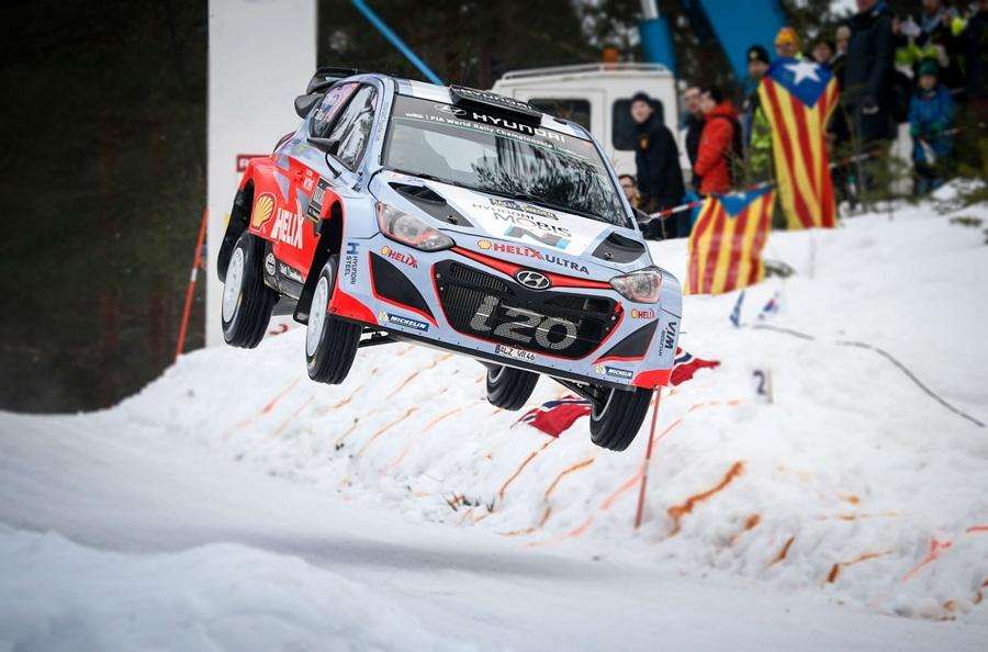 Raliul Suediei, Hyundai Motorsport tinteste un loc pe podium