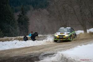 Simone Tempestini - Subaru Impreza - Winter Rally  Covasna