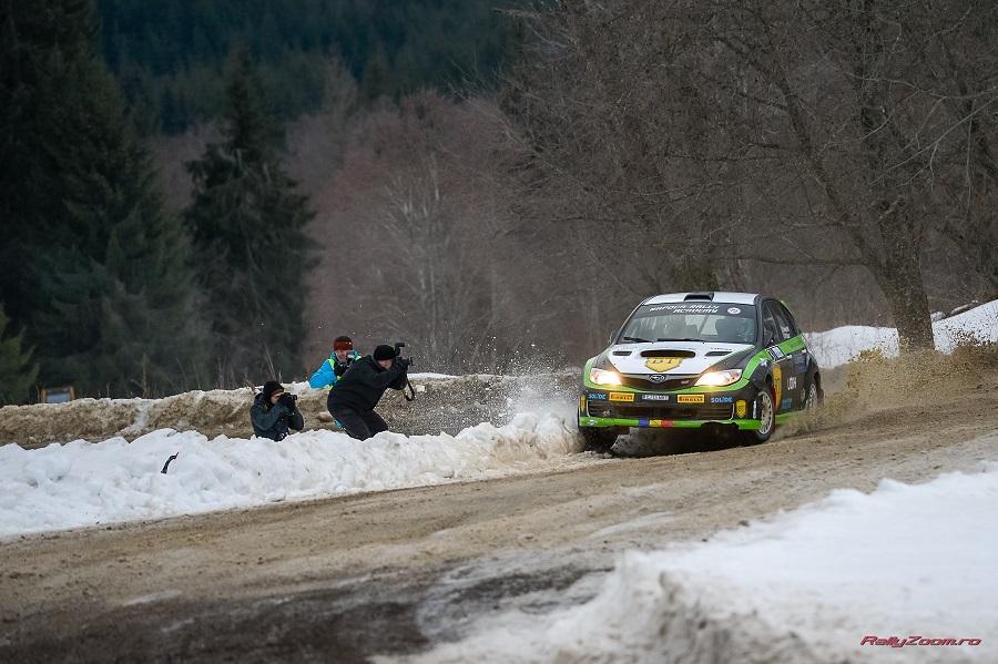 Winter Rally Covasna, dublă pentru juniorii NRA