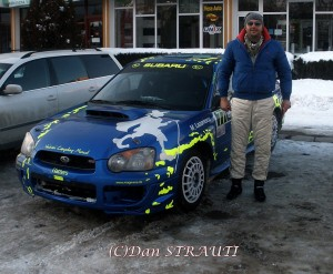 Norris Mageanu - Winter  Rally Covasna 2011