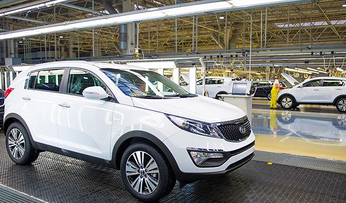 KIA Motors Slovacia a doborât recordul de producţie în 2014