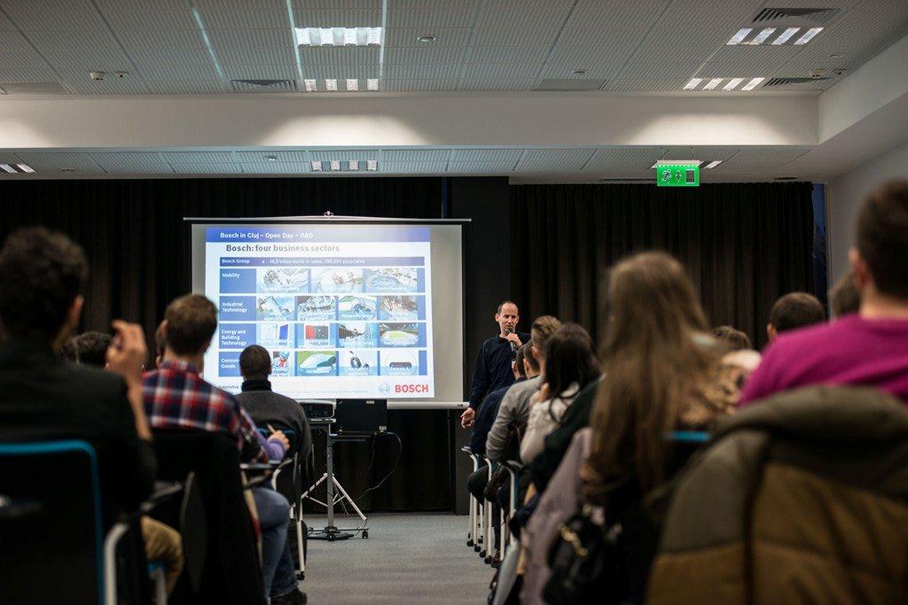 Bosch R&D Open Day pentru studenții si tinerii profesioniști din Cluj