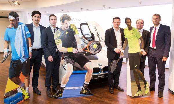 Andy Murray participă la BMW Open by FWU AG în München