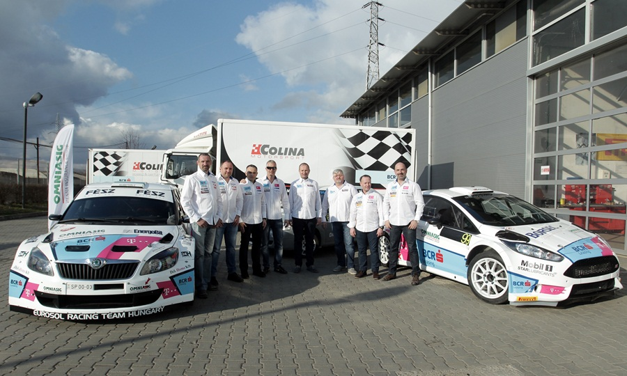 BCR LEASING RALLY TEAM – 2015