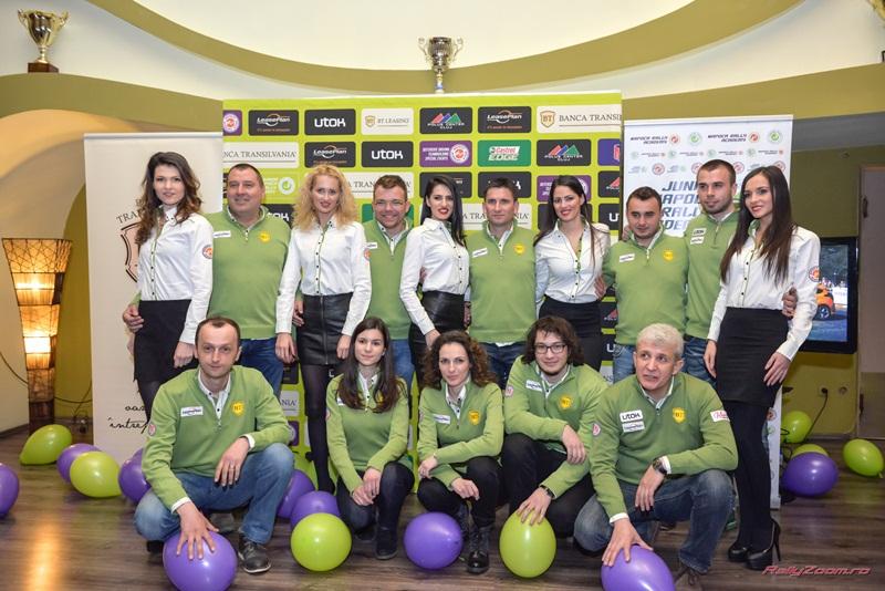 Prezentarea oficială a echipei Napoca Rally Academy