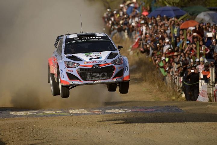 Raliul Mexicului: Dani Sordo (#8 Hyundai i20 WRC) a reusit sa termine raliul pe pozitia a cincea