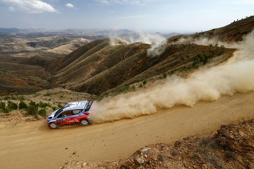 Raliul Mexicului: ritm bun dar si ghinion pentru echipa Hyundai Motorsport