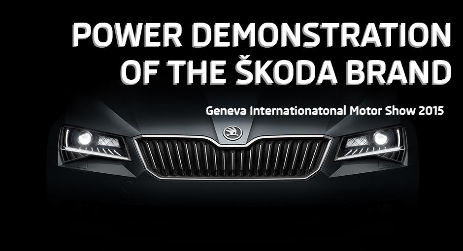 Geneva 2015 – O nouă eră pentru ŠKODA