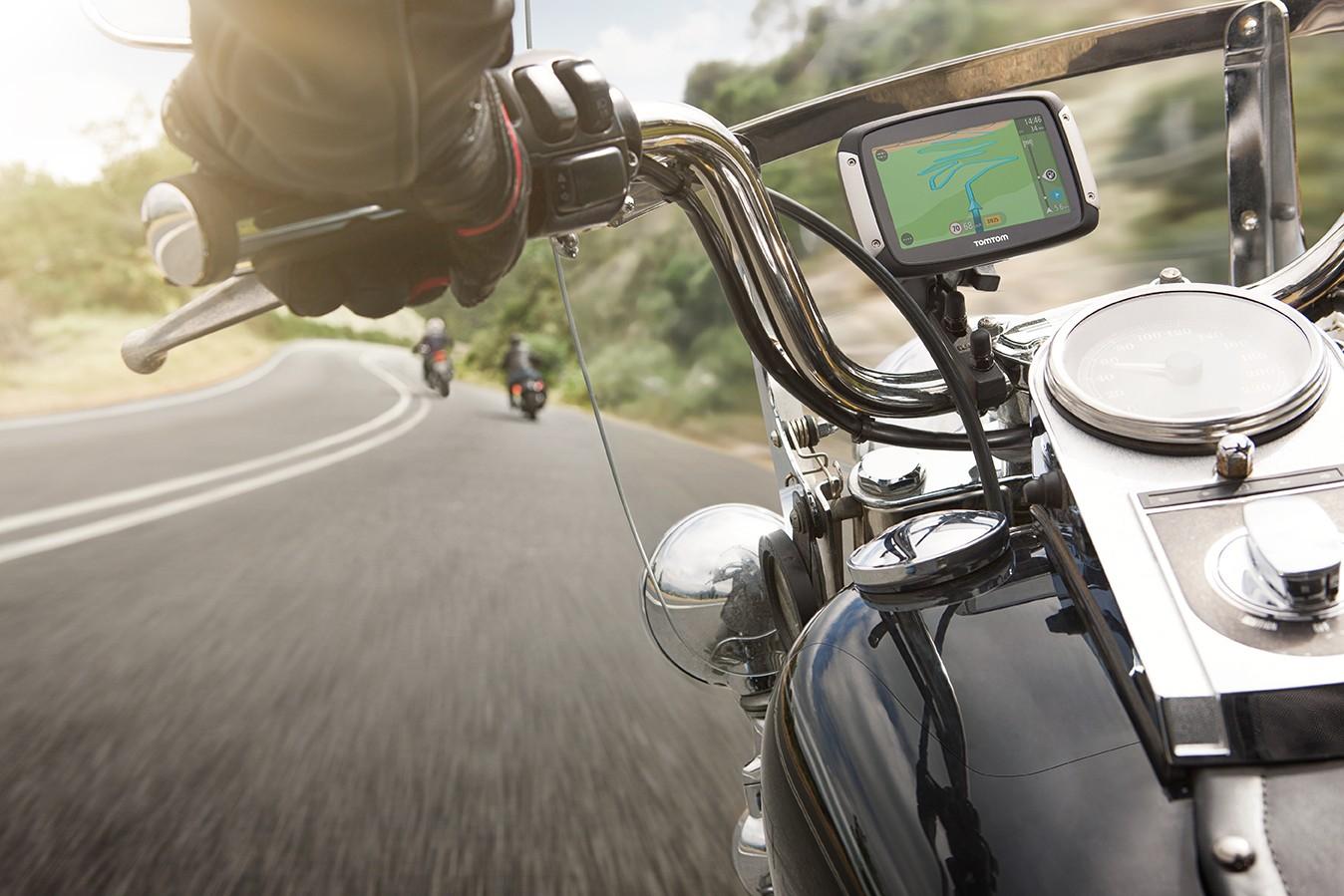 Noul GPS Rider pentru motociclete