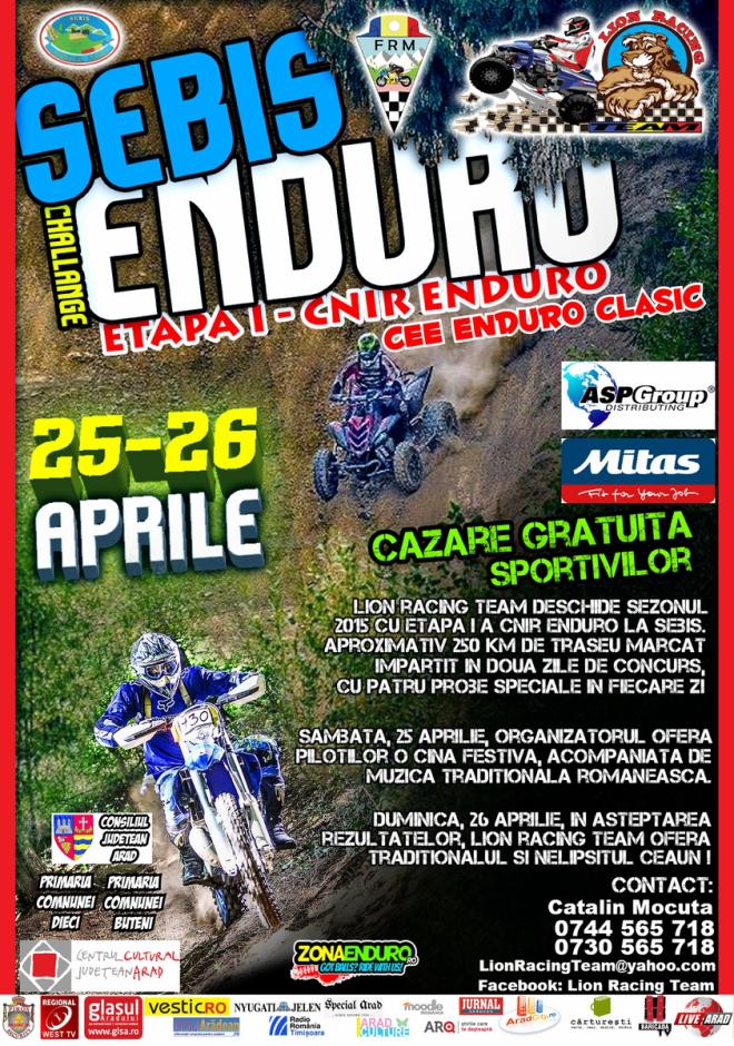 CNIR: Enduro, prima etapa la Arad