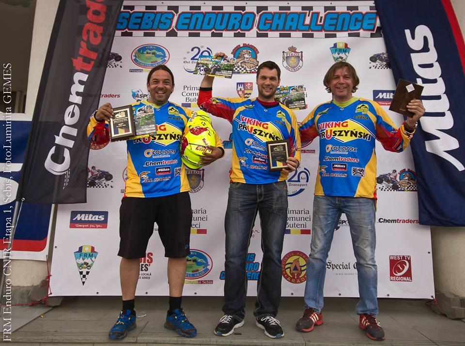 Adventure Ride Racing Team, 3 rideri pe podium la Sebis