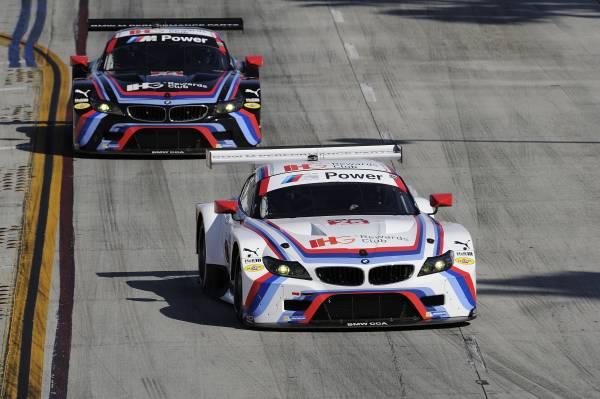 BMW Team RLL obţine victoria la Long Beach