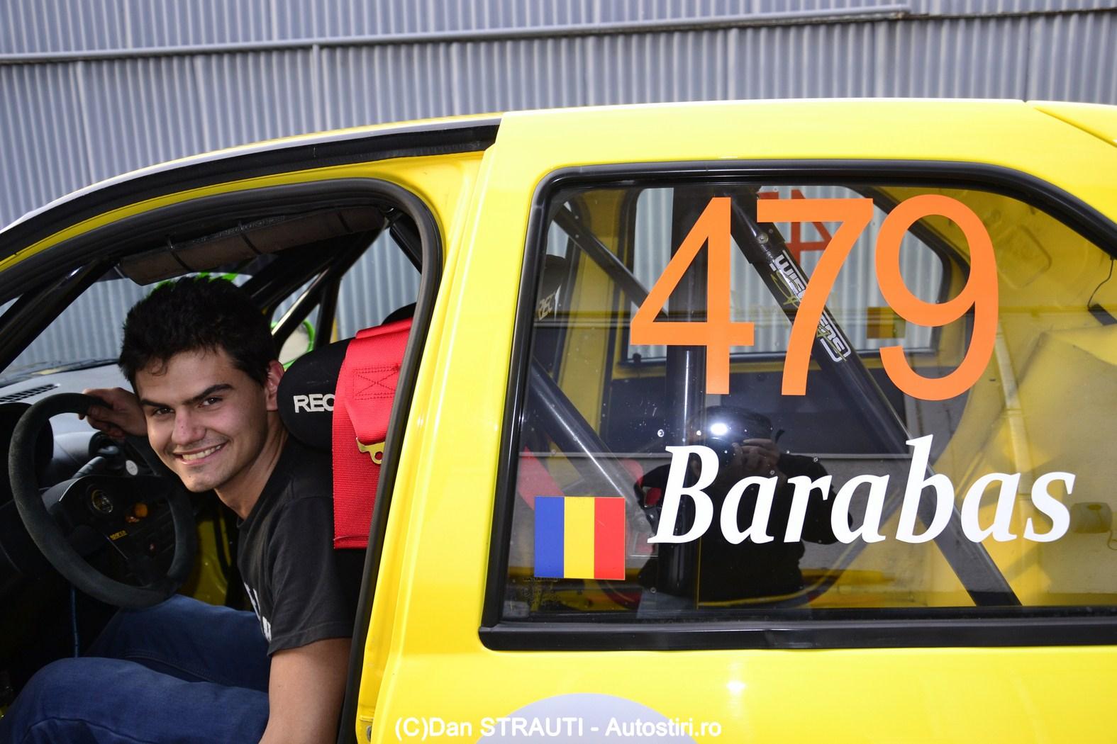 Barabas Robert, de pe pista de karting in competitiile de viteza in coasta