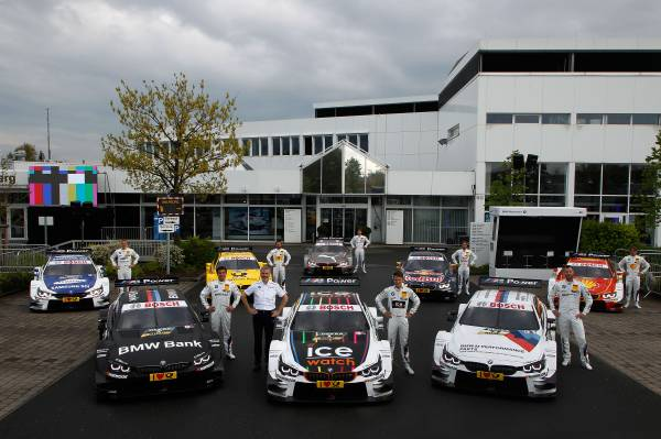 DTM 2015, al patrulea sezon pentru BMW Motorsport