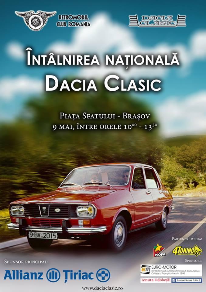 Intalnirea Nationala Dacia Clasic – Brasov
