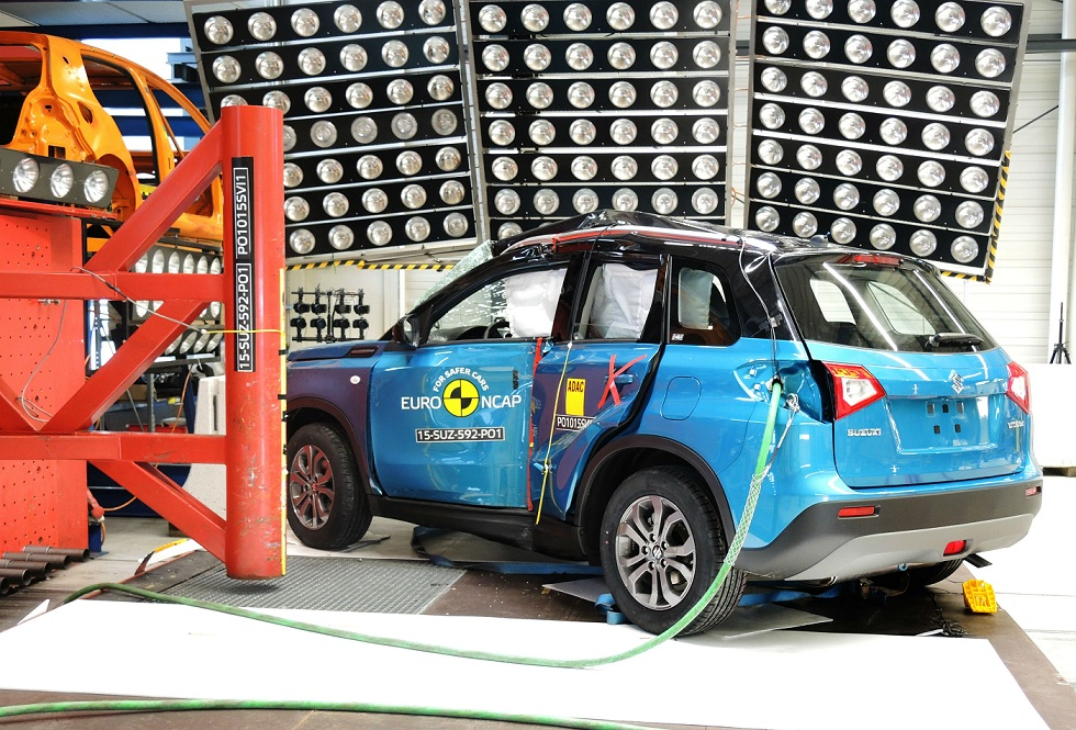 Euro NCAP, noul Suzuki Vitara a obținut 5 stele
