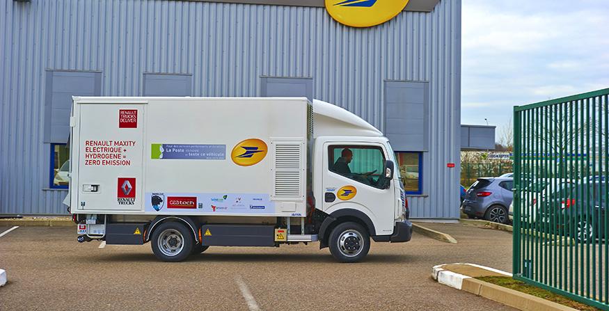 Poşta şi Renault Trucks se angajează să protejeze mediul