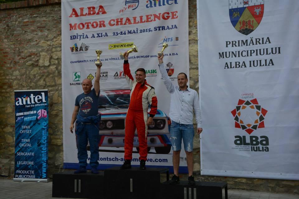 Szene Raul, restart pe podium la Alba Motor Challenge