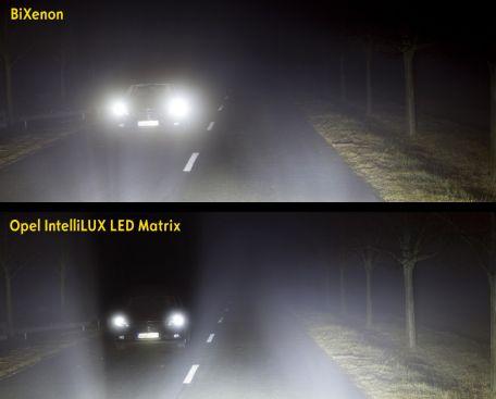 Premieră în segment: viitoarea generaţie a modelului Opel Astra, iluminare cu matrice cu LED-uri IntelliLux