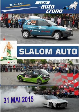 Concurs Slalom Auto – Sf. Gheorghe